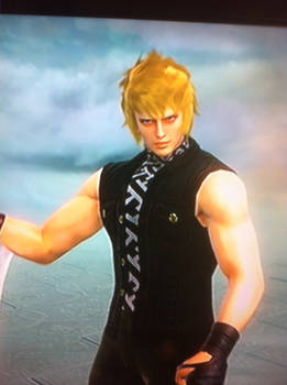 Soul Calibur V - Prompto (Final Fantasy XV)