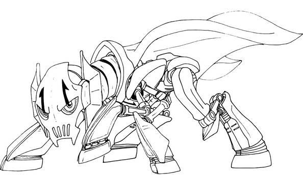 General Grievous ponymorph drawing