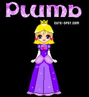 Pixellated Plumb by MidoriTheGreen