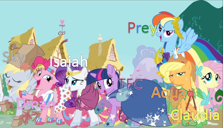 My little pony cartoon characters - photo#25