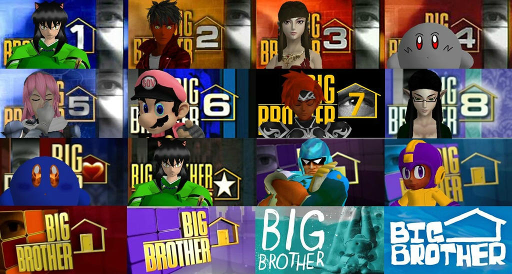 Big Brother Winners by isaiahcow1