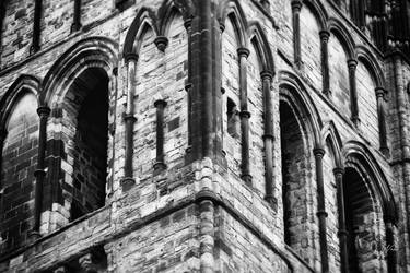 Durham Cathedral West Tower by domwphoto