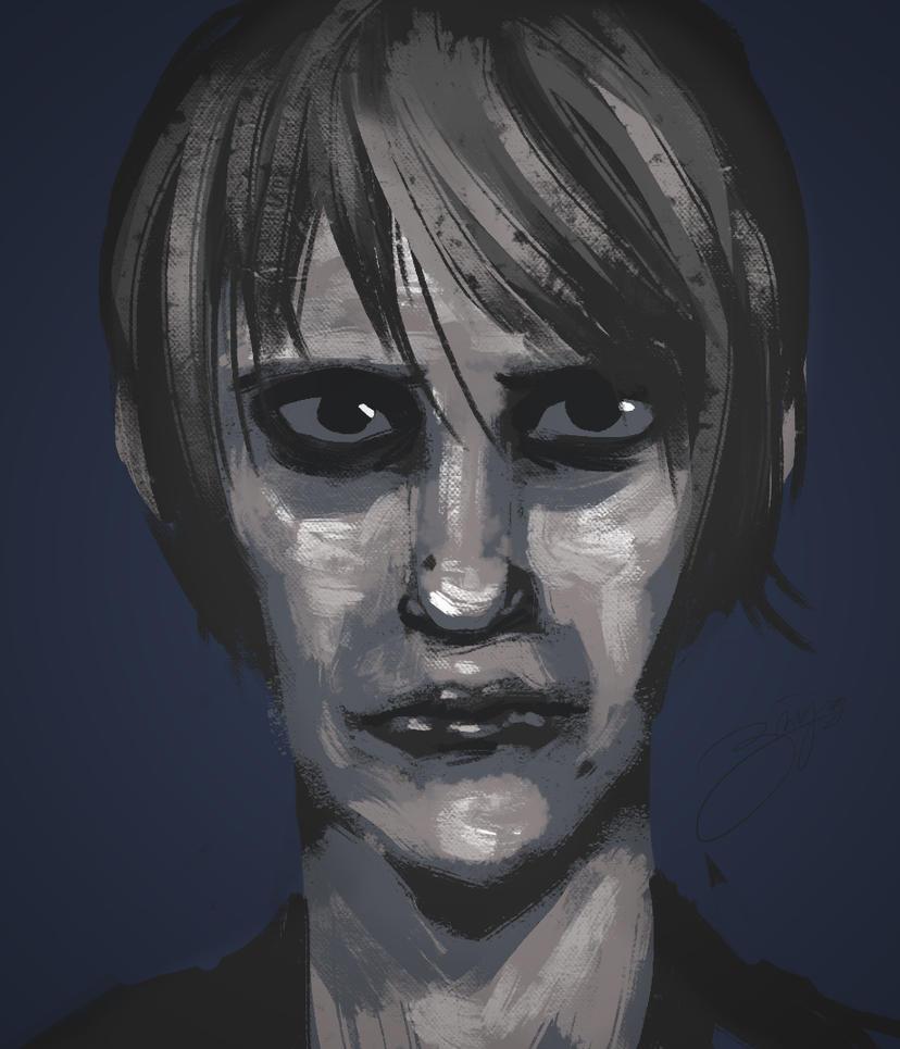 Portrait by Mun-B