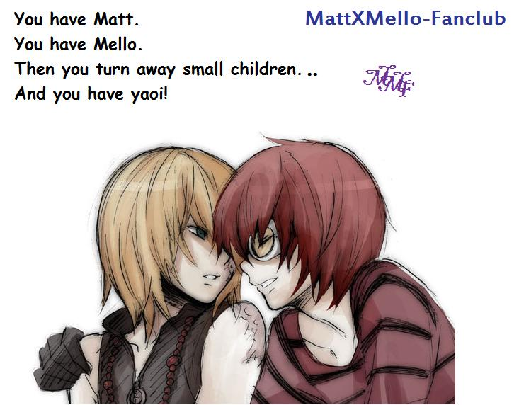 Meaning of Matt And Mello by MattxMello-Fanclub on DeviantArt