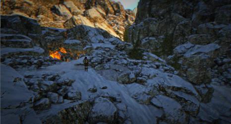 Fiery Cave by ClanLatria