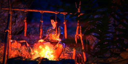 Campfire by ClanLatria