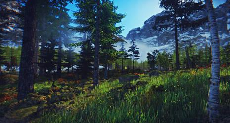 Woodlands by ClanLatria