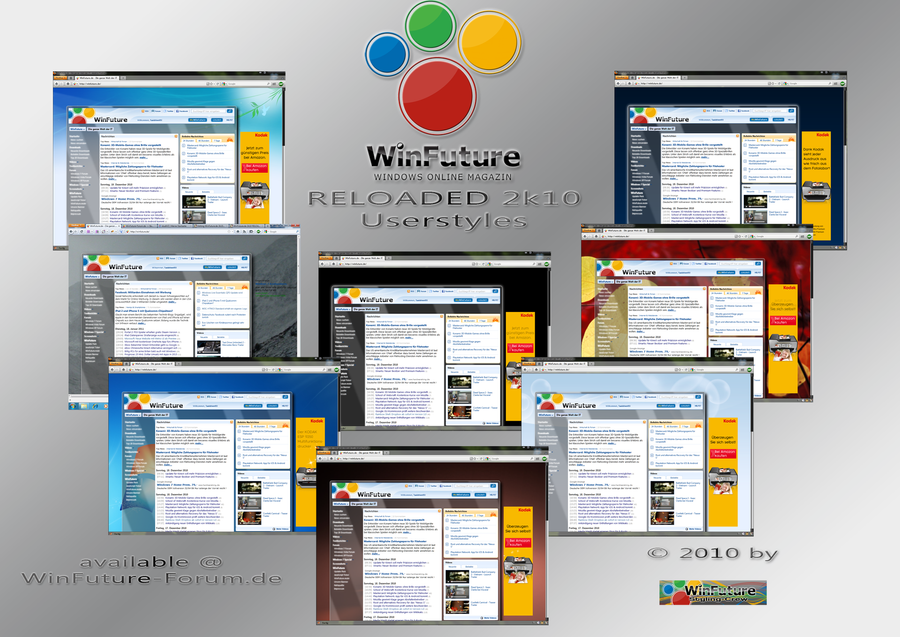 WinFuture RELOADED Userstyles by Taxidriver05