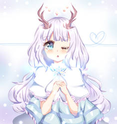 AT: The Winter Deer by Hinamico