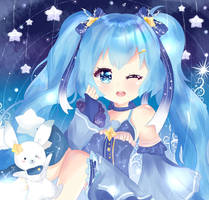 Snow Miku 2017 ! by Hinamico
