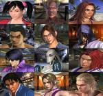 Tekken 4 Stages