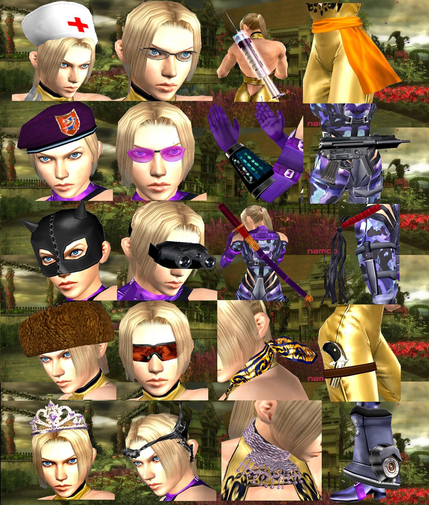 Tekken 5 Nina Williams Customization By Lonerpx On Deviantart