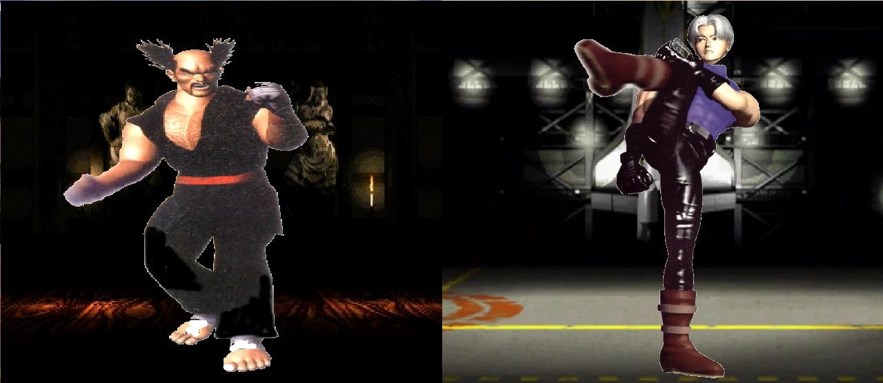 Tekken 2 Heihachi Mishima Lee Chaolan By Lonerpx On Deviantart