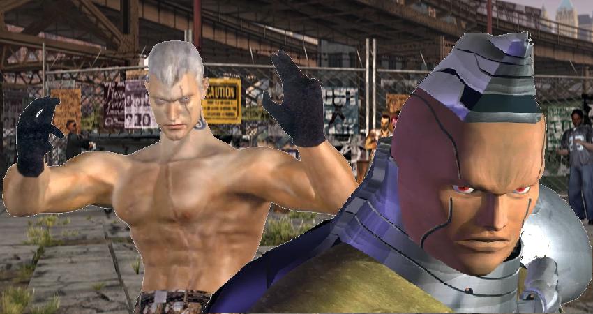 Tekken Tag Tournament Bryan Fury Gun Jack By Lonerpx On Deviantart