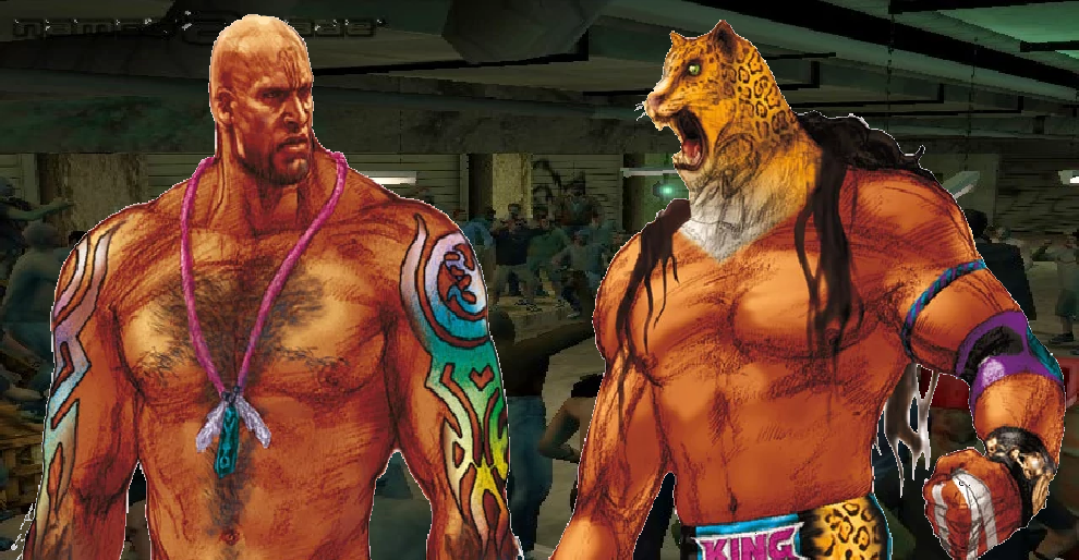 Tekken 4 Craig Marduk King By Lonerpx On Deviantart