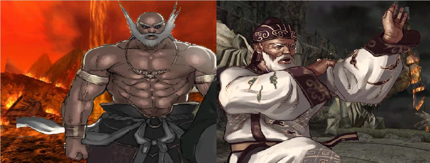 Tekken 5 Jinpachi Mishima Wang Jinrei By Lonerpx On Deviantart