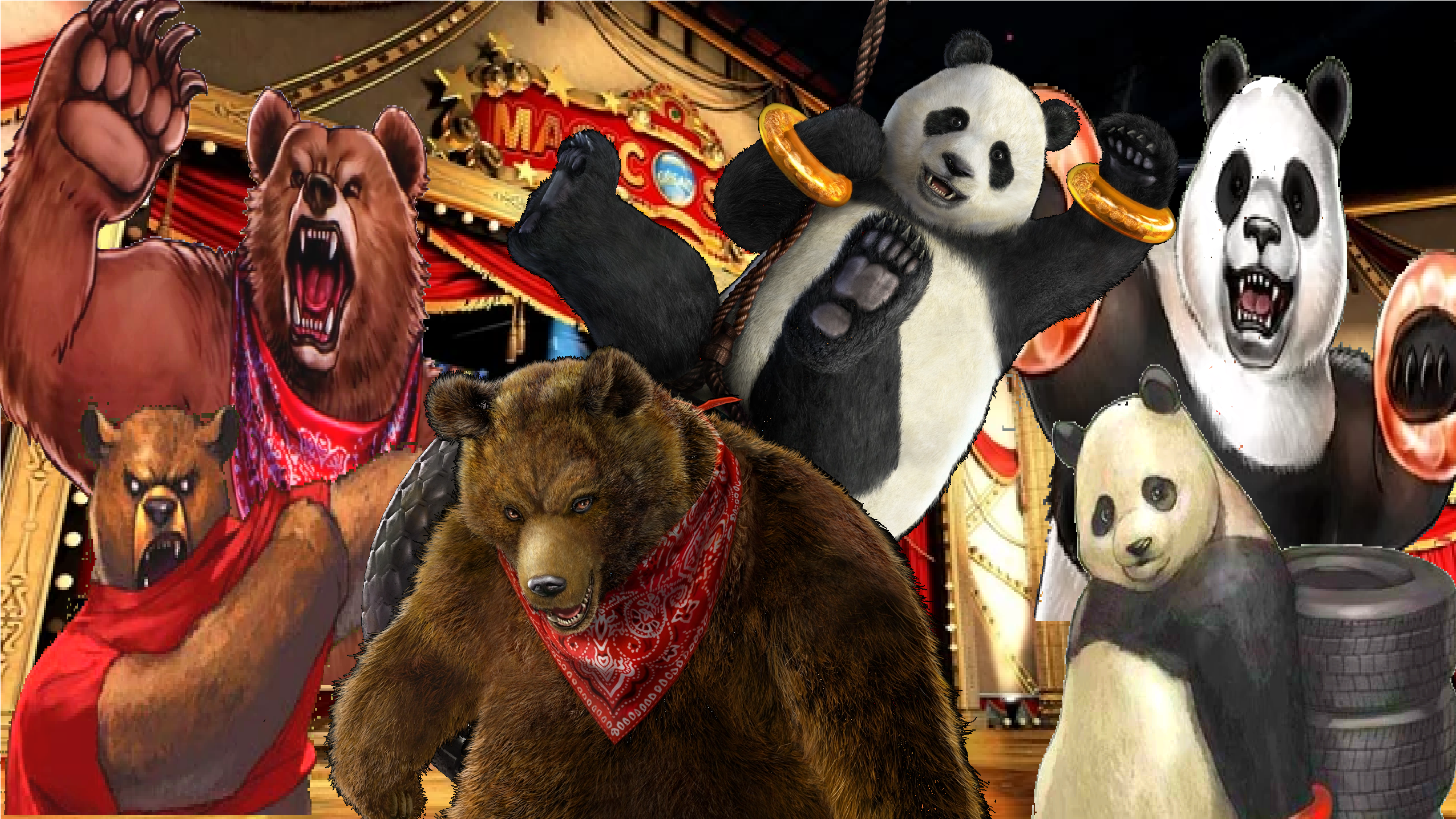 Tekken Tag Tournament 2 Kuma Panda By Lonerpx On Deviantart