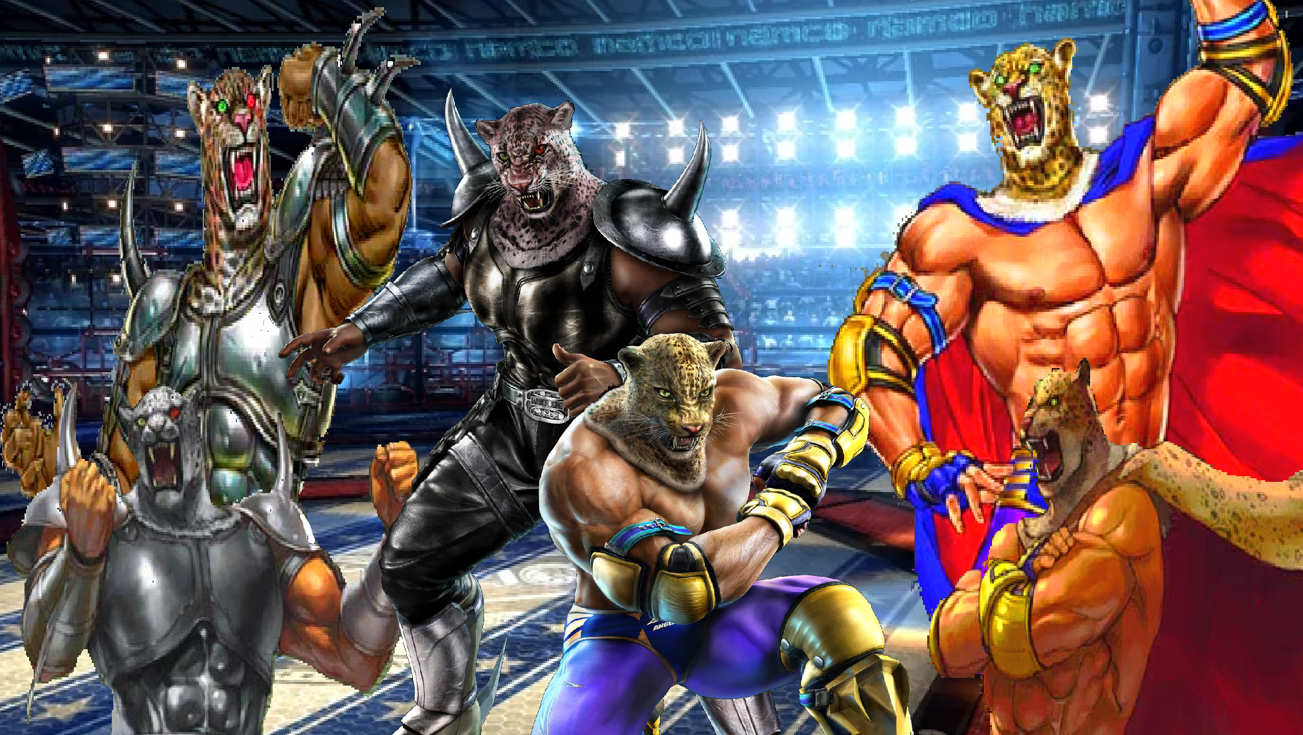 Tekken Tag Tournament 2 Armor King Ll King Ll By Lonerpx On