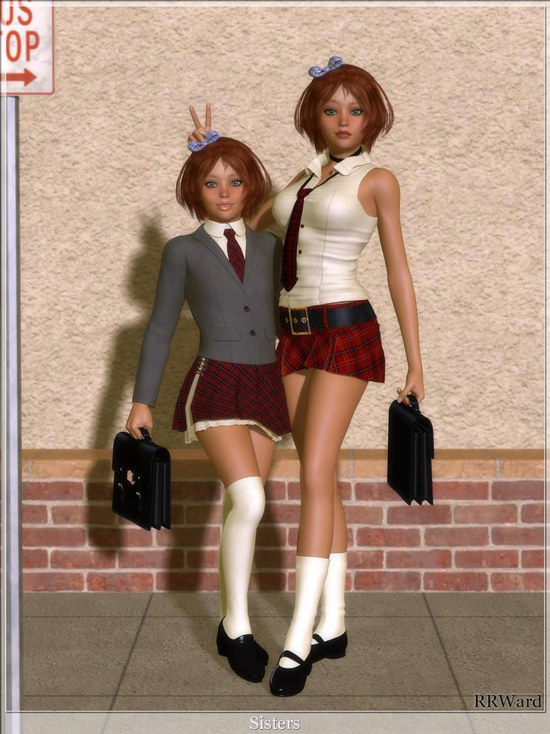 Sisters - Periwinkle by rrward