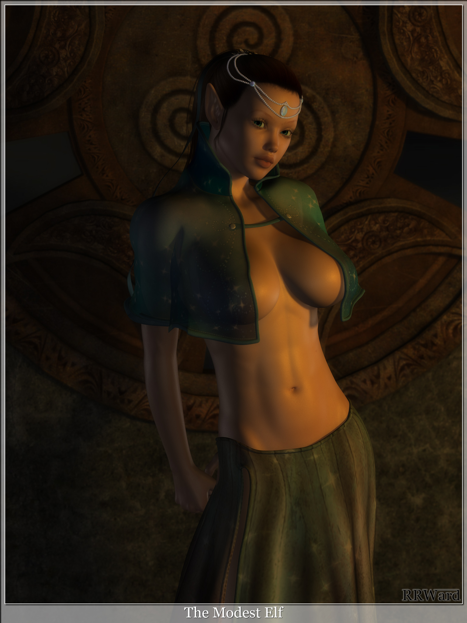 3d busty elves sexual picture