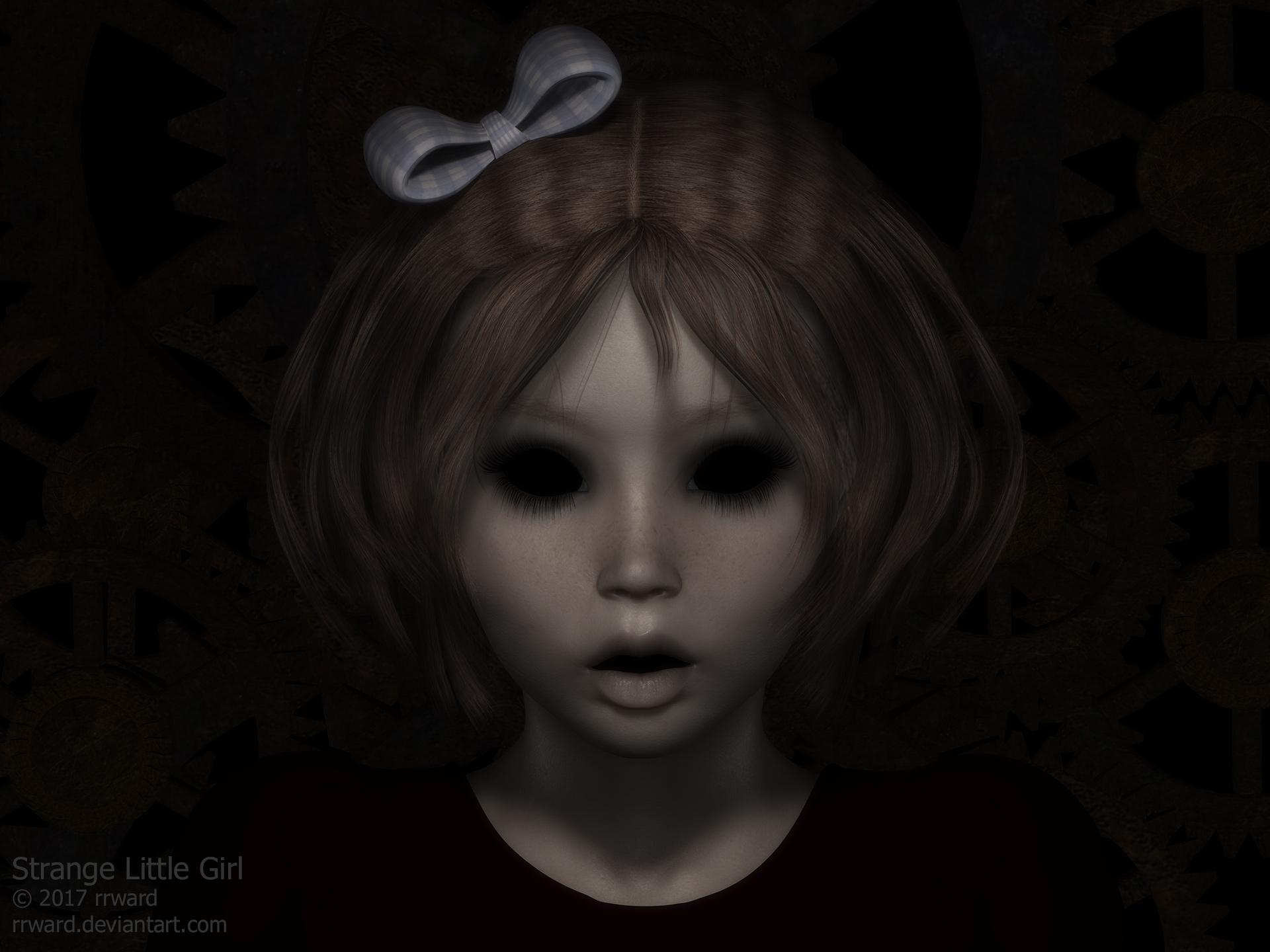 Strange Little Girl by rrward