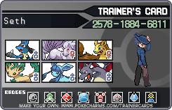 Trainer card by Killershadow5002