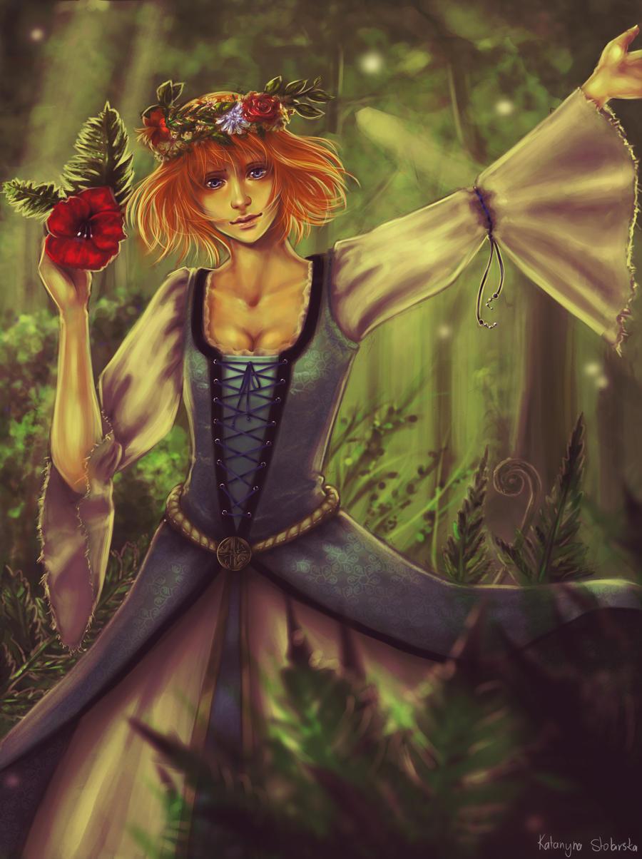 .Fern's Flower. by Lady-Werewolf