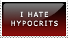 Stamp: hypocrits by Lady-Werewolf