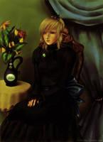 Gabrielle - portrait by Lady-Werewolf
