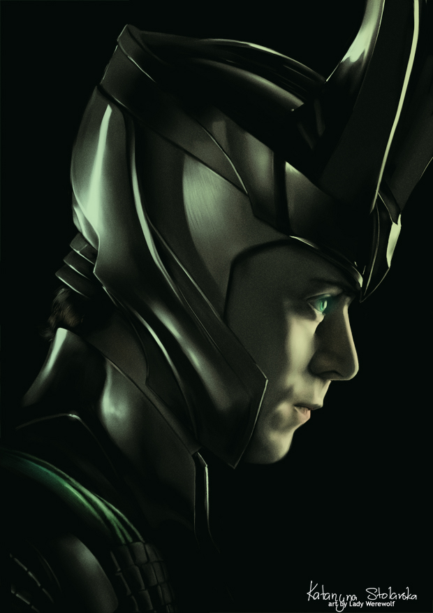 Tom Hiddleston: Loki by =Lady-Werewolf