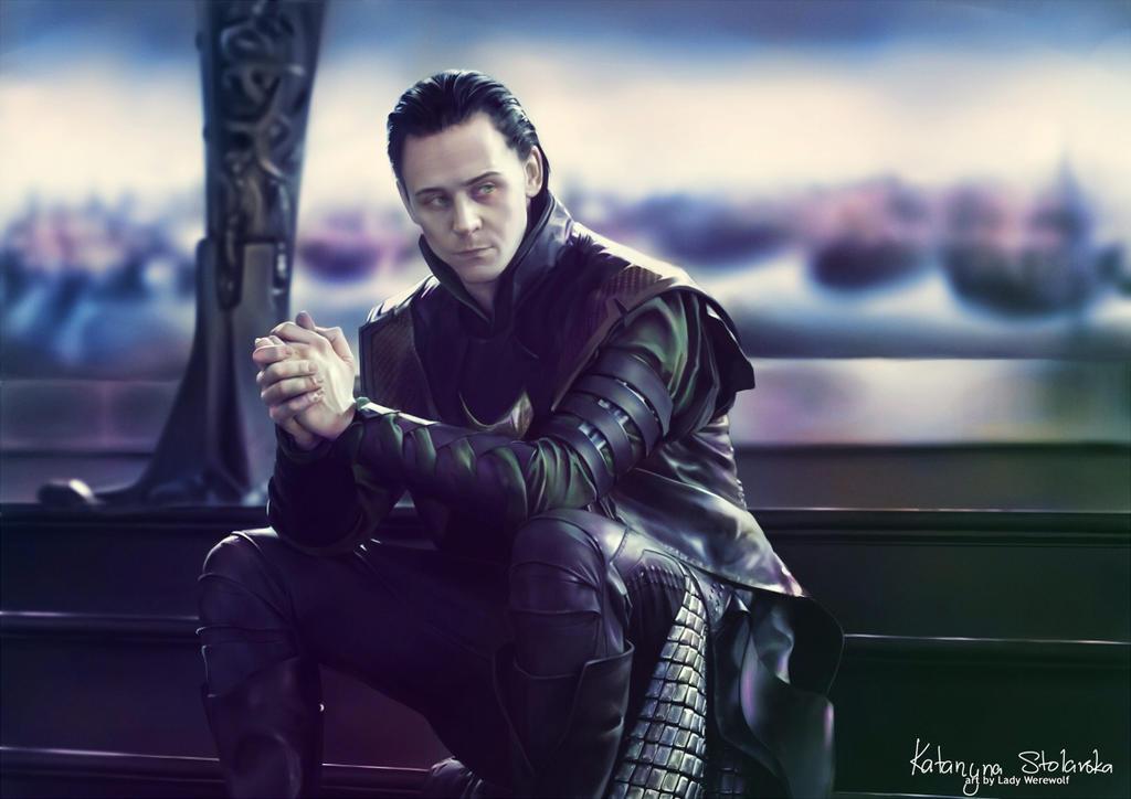 Tom Hiddleston: Loki 3 by Lady-Werewolf