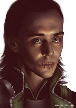 Loki: mouth shut