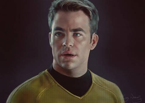 James Kirk portrait