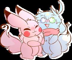 (Gift) Fluffy Hugs!