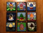 Cupcake Paintings