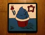 Seussian Cupcake