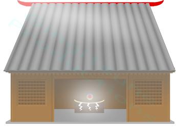 Inari Shrine Closeup by Gingitsune-Lady-Fox