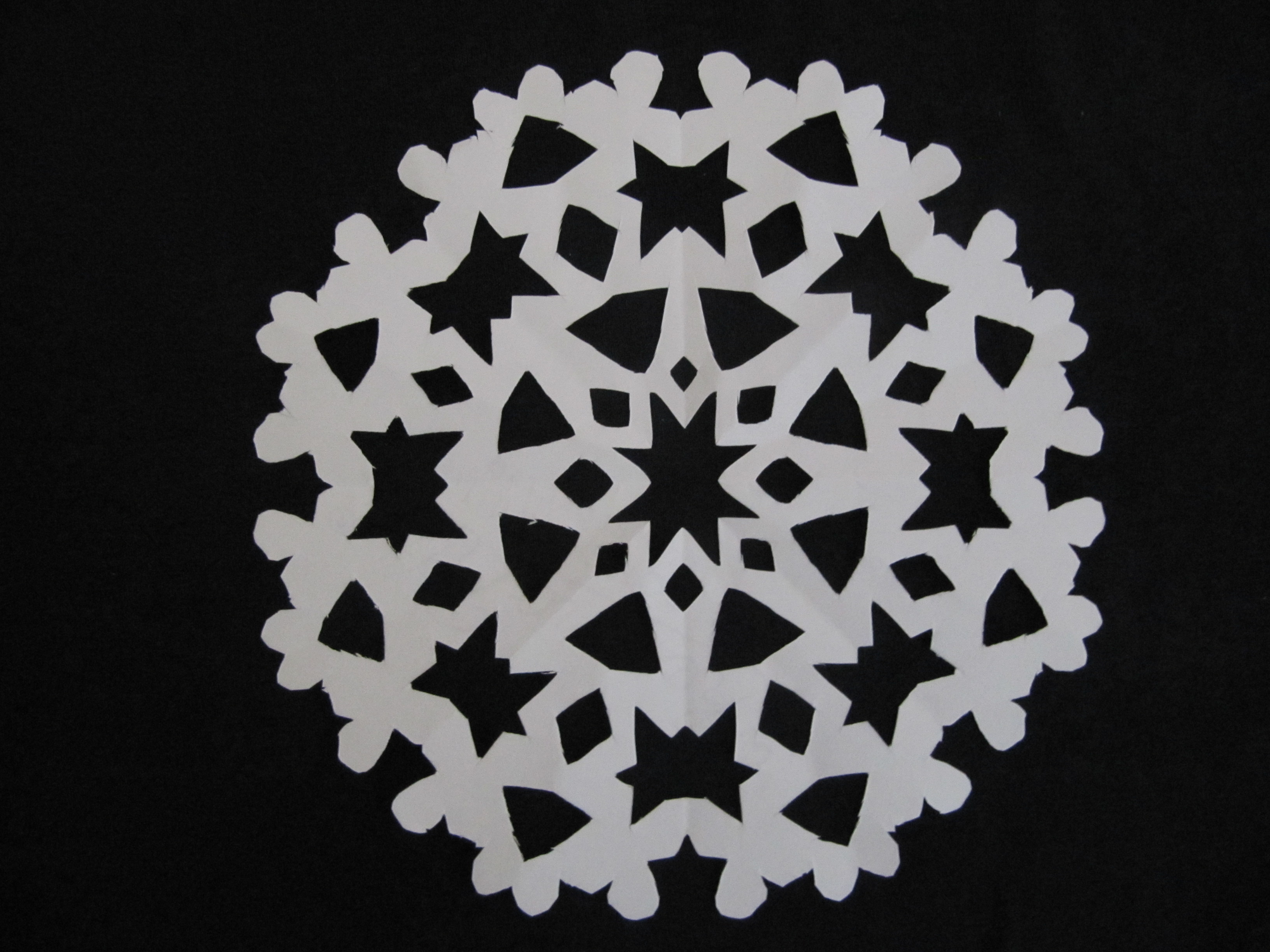 paper snowflakes Unusual variations on the paper snowflake so say it's the holiday season and you're supposed to be all festive and jolly but you're more of the grinchy type.