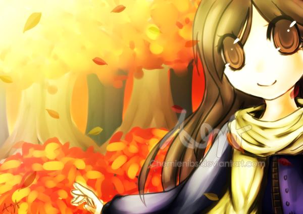Autumn by Jintii