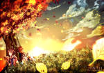 Autumn's twilight by Jintii