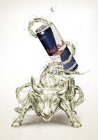 Red Bull - Bull by pepey
