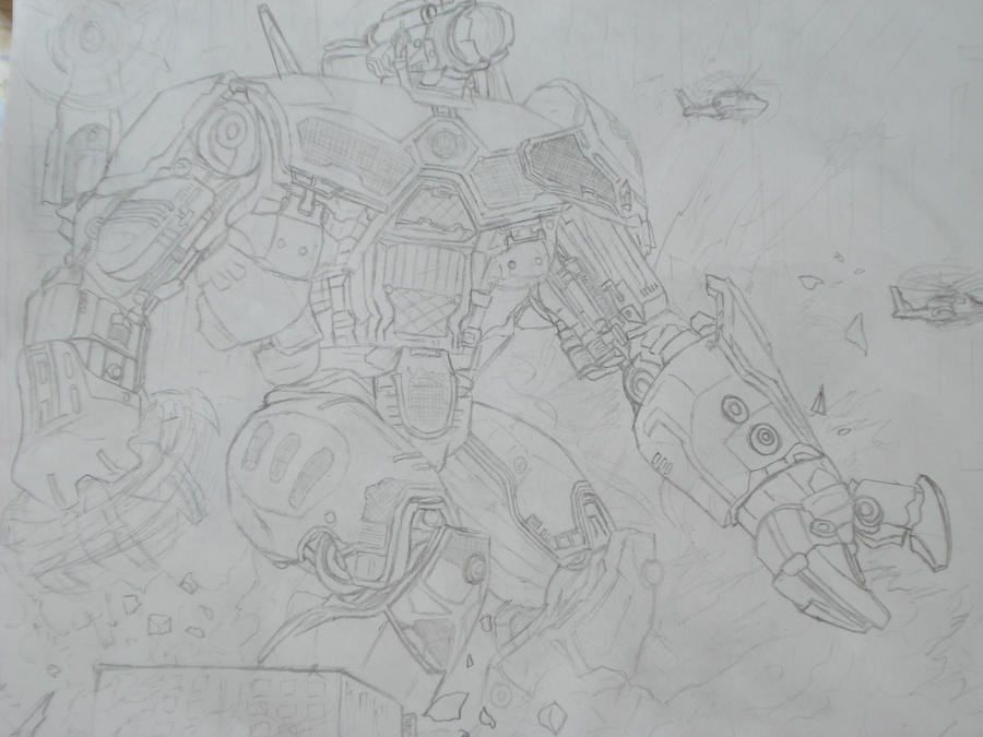 Pacific Rim - China's Crimson Typhoon by ... Pacific Rim Crimson Typhoon Drawing