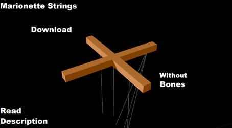 MMD: Marionette Strings for Download by Neta-DV
