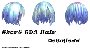 MMD: Short TDA Hair edit Download