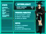 ~ STARLIGHT Character Bio ~