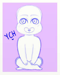 YCH Sitting Chibi [OPEN] by Bronze-Haifisch