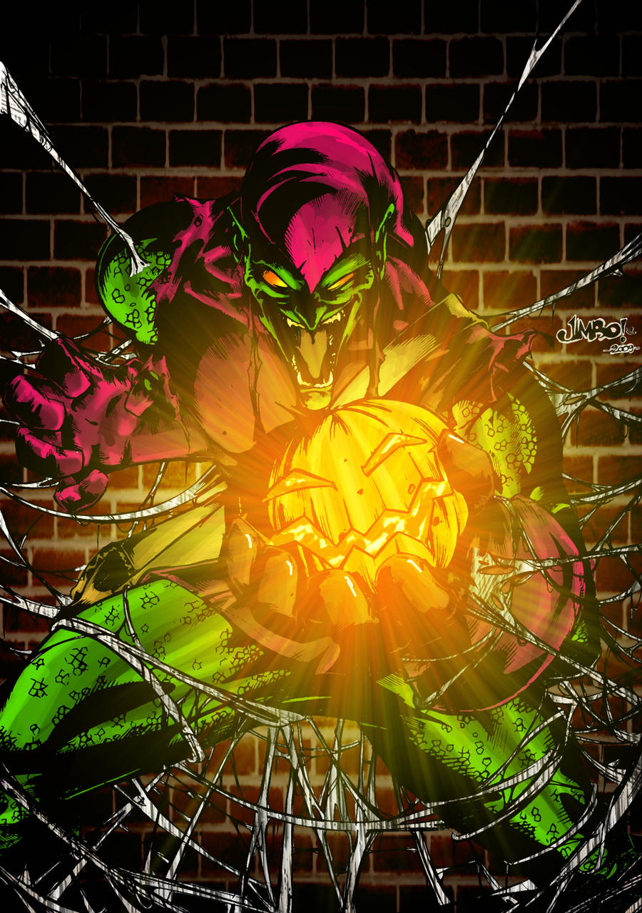 The Green Goblin by rapnex