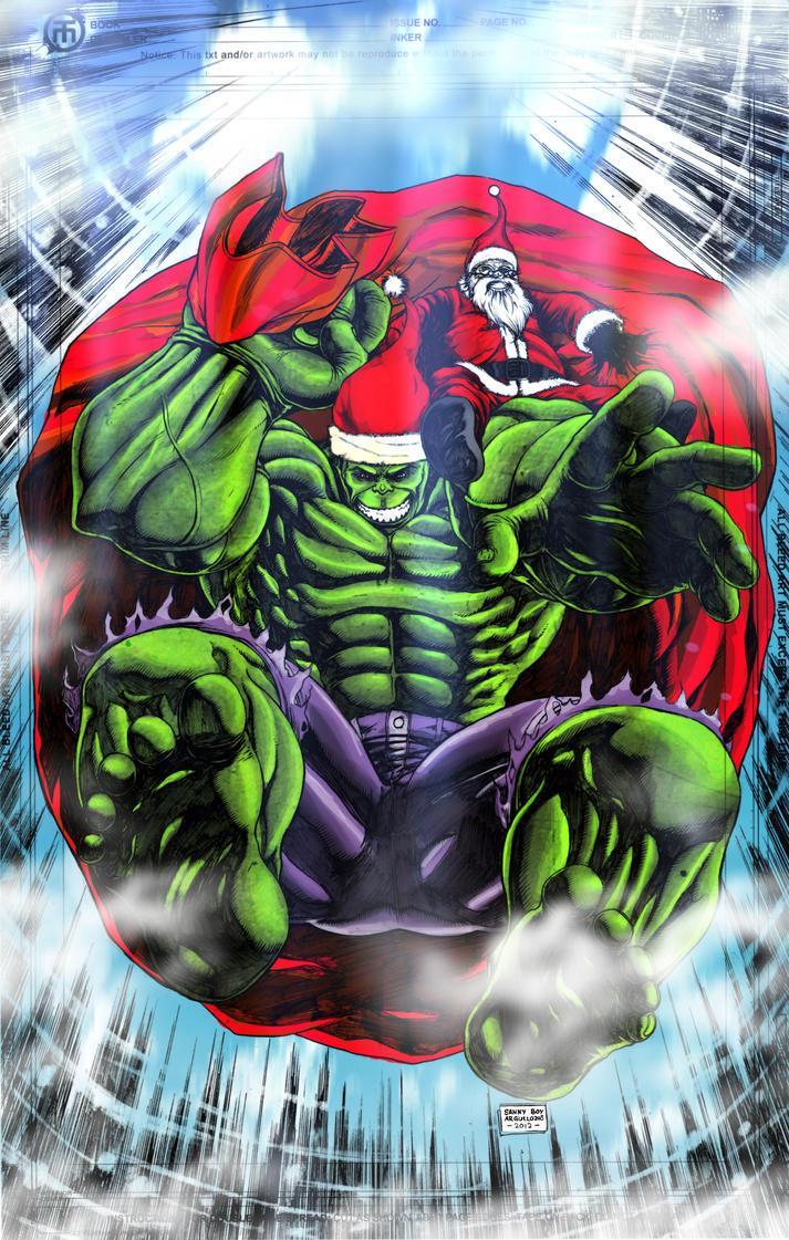 X-mas hulk by rapnex