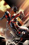 Stealth Spiderman Colored