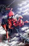Spider Man Colored
